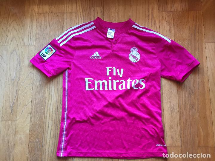 70511fd6f936b Coleccionismo deportivo  CAMISETA REAL MADRID