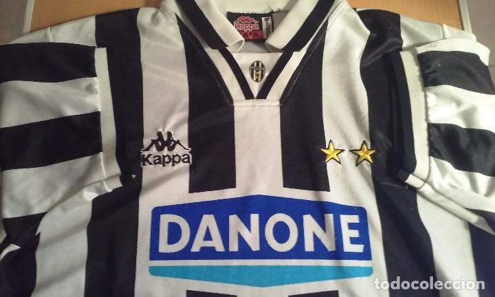 46f8b9268 Sports collectibles  Camiseta Vintage Juventus Kappa Danone. - Foto 2 -  105438471