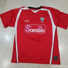 Sports collectibles - Camiseta Marbella CF Scandalo Talla XL. Mercury - 105690147