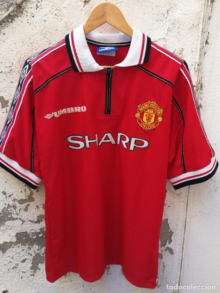 Mitica Camiseta Oficial Futbol Manchester Unite Sold Through Direct Sale 192519732