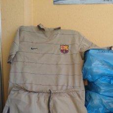 Coleccionismo deportivo: FC BARCELONA 2005 - CAMISETA RONALDIÑO + CALZON. Lote 109022527