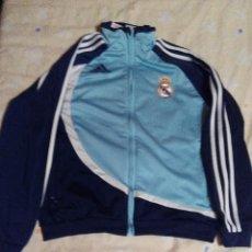 Coleccionismo deportivo: CHAQUETA DE CHANDAL DEL REAL MADRID ( ADIDAS ). Lote 109452539