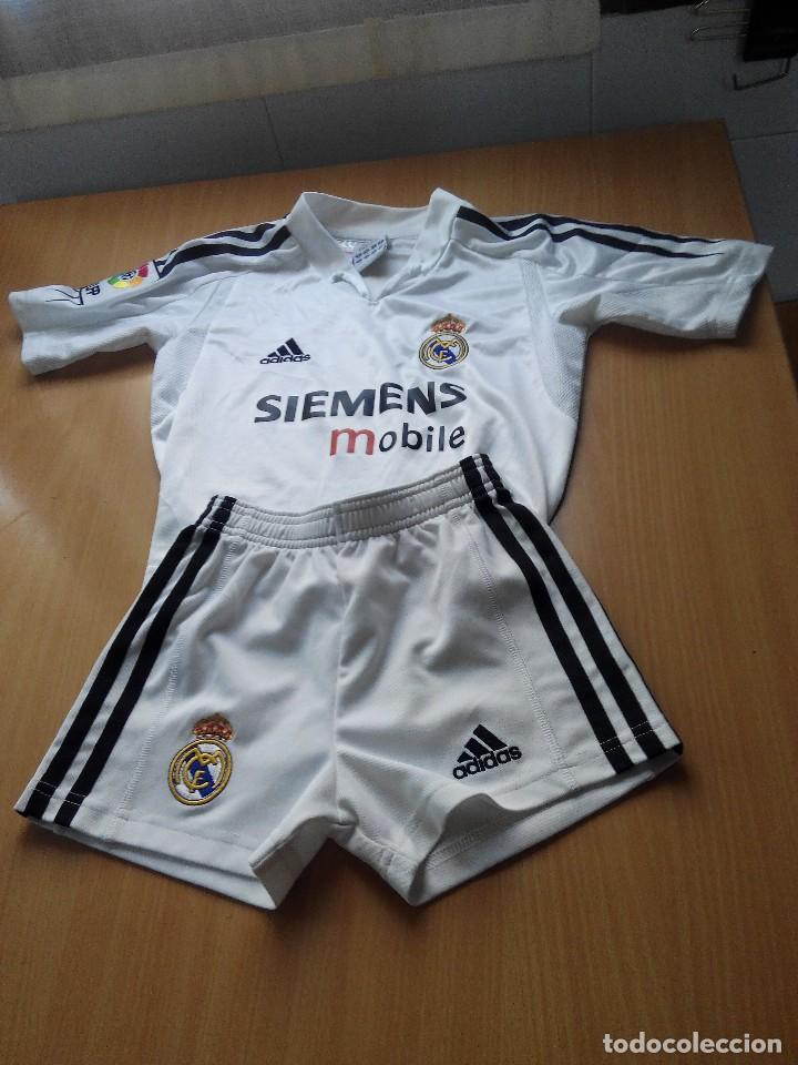 equipacion real madrid futbol