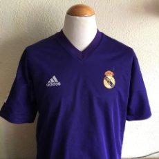 Coleccionismo deportivo: CAMISETA FUTBOL REAL MADRID 2001-2002 CENTENARIO REVERSIBLE SHIRT TRIKOT MAGLIA. Lote 110091223