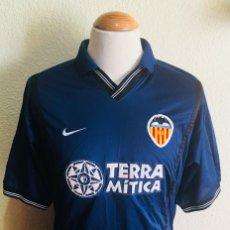 Coleccionismo deportivo: CAMISETA FUTBOL VALENCIA C.F 2000-2001 TERRA MITICA SHIRT TRIKOT MAGLIA. Lote 110092499