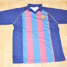 Coleccionismo deportivo: CAMISETA MATCH WORD SPORT FC BARCELONA 2004-2005 RONALDINHO. Lote 110107587