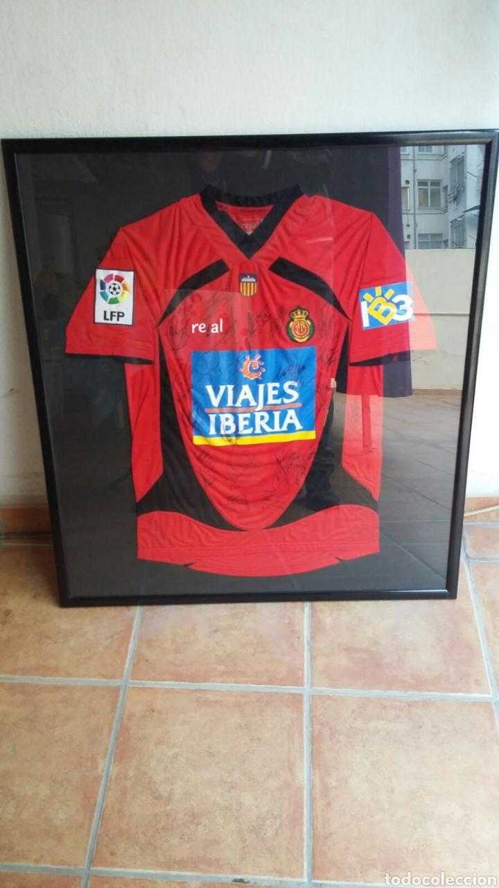camiseta mallorca firmada 2007 - 2008 - Comprar Camisetas de Fútbol ...