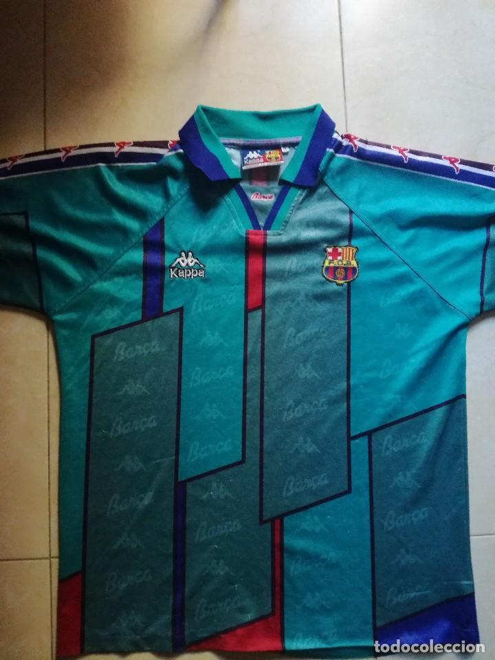 camiseta f.c. barcelona 1996 1997. talla m - Comprar Camisetas de ... 8e3ff08b08806