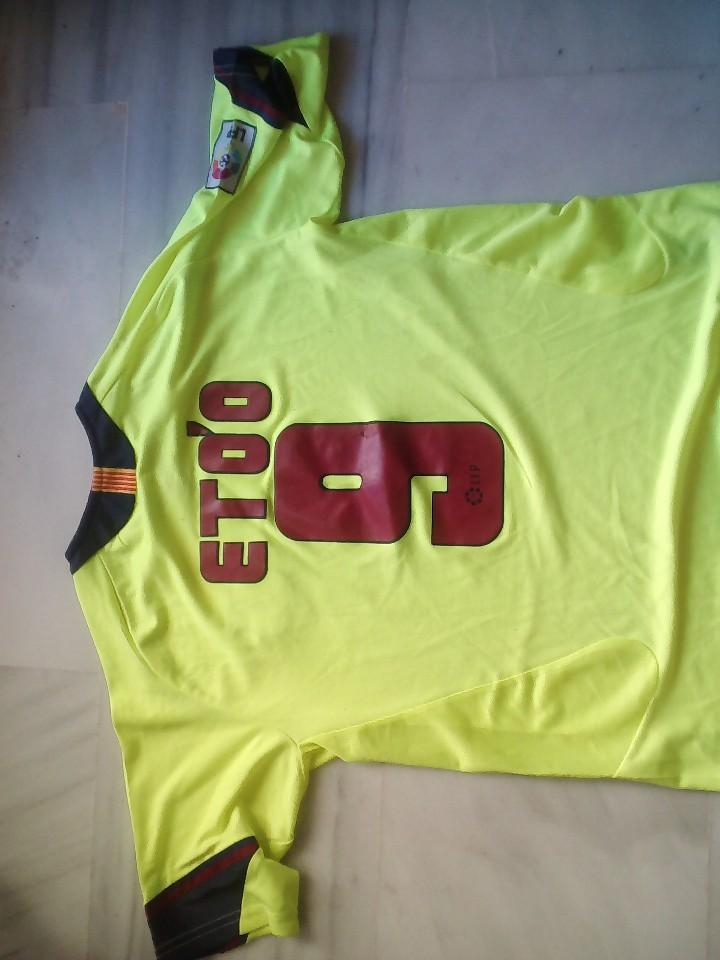 Coleccionismo deportivo: CAMISETA F.C BARCELONA ETOO TALLA L - Foto 2 - 112133911