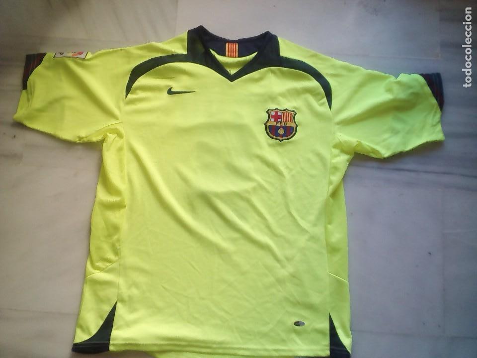 CAMISETA F.C BARCELONA ETO'O TALLA L (Coleccionismo Deportivo - Ropa y Complementos - Camisetas de Fútbol)