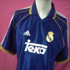 Sports collectibles - Camiseta futbol original Adidas Real Madrid teka talla L - 114034379