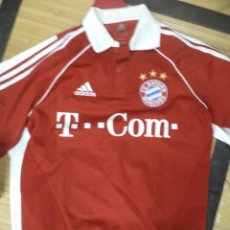 Coleccionismo deportivo: CAMISETA OFICIAL DEL F.C.BAYERN MUNCHEN 2005 / 2006.ADIDAS TALLA S.MANGA CORTA.. Lote 114034783