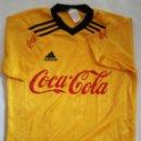 Coleccionismo deportivo: CAMISETA FUTBOL ADIDAS COCACOLA. Lote 114253479