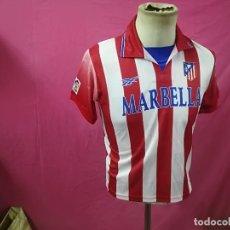 Sports collectibles - CAMISETA FUTBOL CLUD ATLETICO DE MADRID REEBOCK TALLA 14 MARBELLA - 114538915