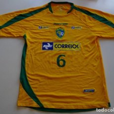 Coleccionismo deportivo: CAMISETA SELECCIÓN BRASIL FUTSAL 2008. Lote 115509787