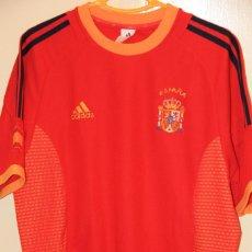 Coleccionismo deportivo: CAMISETA ESPAÑA MUNDIAL COREA 2002. Lote 115644047