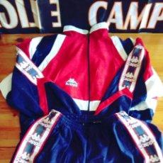Coleccionismo deportivo: CHANDAL FUTBOL ATHLETIC BILBAO KAPPA 90S LA LIGA. Lote 115697115