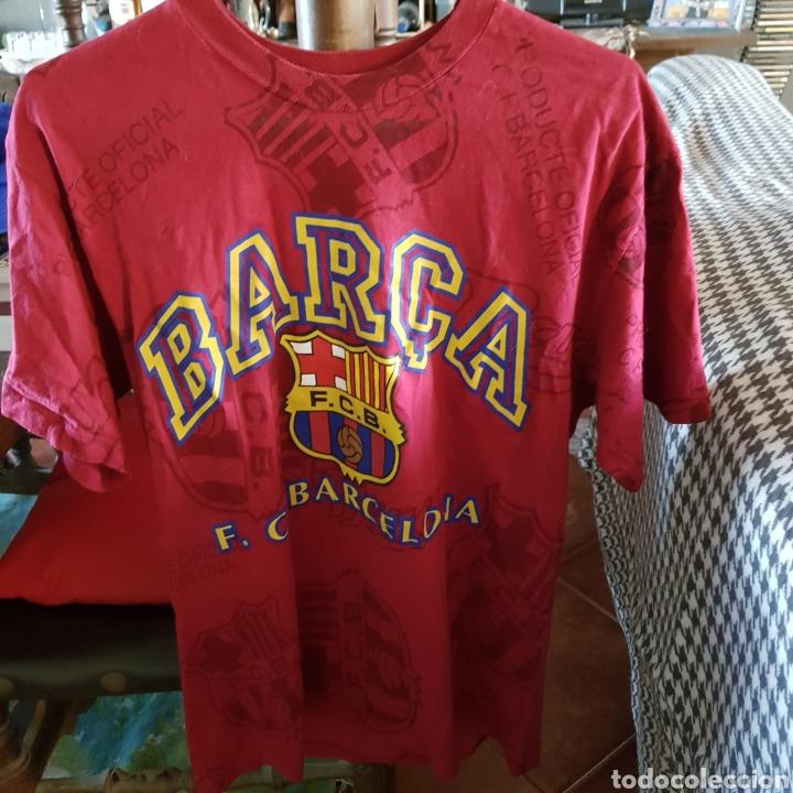 CAMISETA FÚTBOL CLUB BARCELONA. PRODUCTO OFICIAL. TALLA L (Coleccionismo Deportivo - Ropa y Complementos - Camisetas de Fútbol)