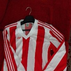 CAMISETA ADIDAS ORIGINAL ATHLETIC BILBAO SPORTING GIJON MANGA LARGA 83-84  PERFE ESTADO VINTAGE RETRO fbe8307ed438f