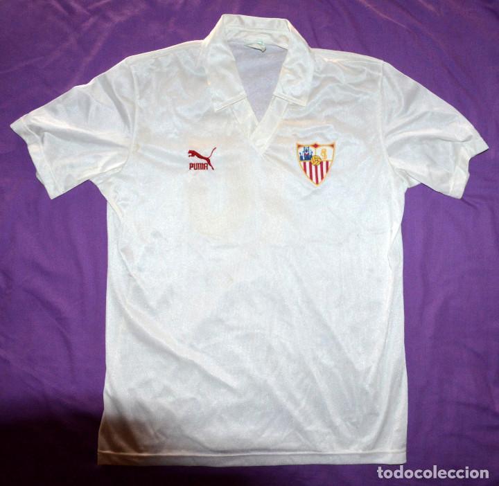 Camiseta sevilla fútbol club. puma. temporada 8 - Vendido en Venta ... 3cf42e24dc1aa