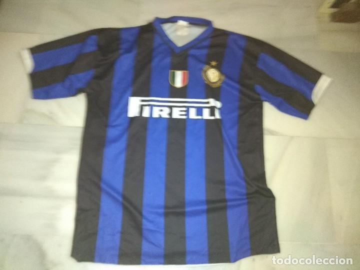 7c1de21c4d737 Camiseta de inter de milán figo 7 talla l - Sold at Auction - 117568435