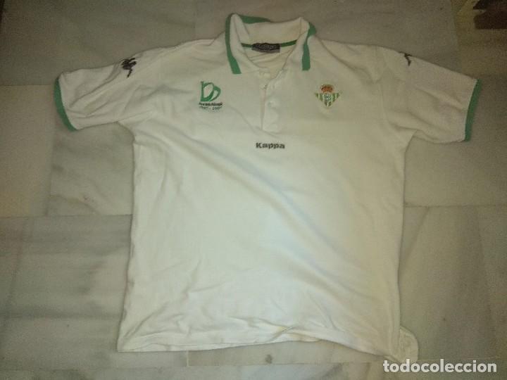POLO REAL BETIS CENTENARIO KAPPA TALLA X LARGE (Coleccionismo Deportivo - Ropa y Complementos - Camisetas de Fútbol)