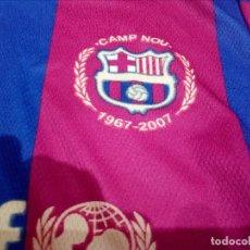 Coleccionismo deportivo: CAMISETA FC BARCELONA CONMEMORATIVA 40 AÑOS INAGURACIÓN CAMP NOU. Lote 118702615