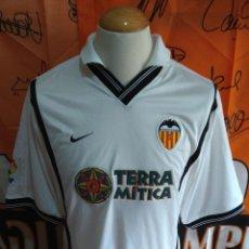 Coleccionismo deportivo: CAMISETA FUTBOL VALENCIA C.F 2000-2001 TERRA MITICA. Lote 118705223