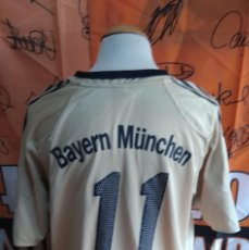Coleccionismo deportivo: CAMISETA FUTBOL BAYERN MUNICH #11 ZE ROBERTO 2004-2005. Lote 118705879
