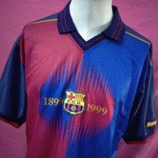 Coleccionismo deportivo: CAMISETA FUTBOL BARCELONA CENTENARIO 1899-1999 PRODUCTO OFICIAL. Lote 119021531