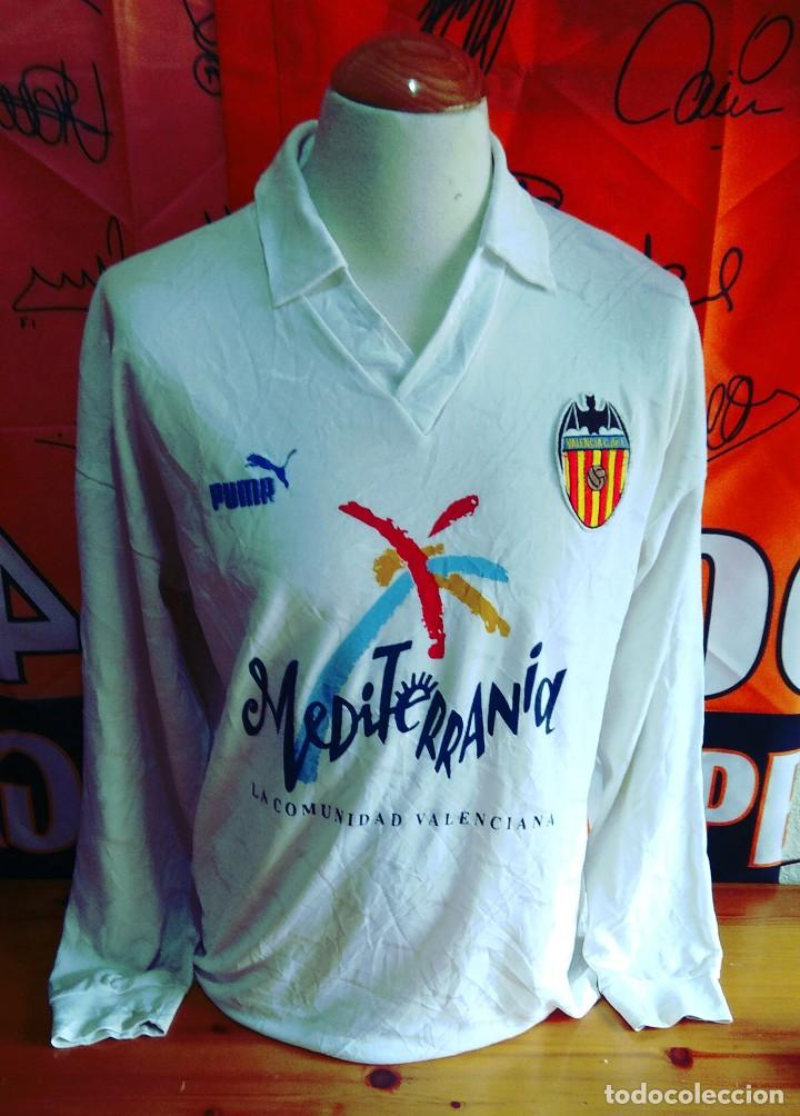 Camiseta Valencia CF manga larga