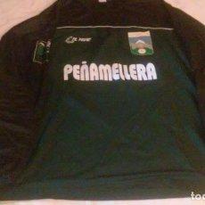 Coleccionismo deportivo: CAMISETA FUTBOL C.D. PEÑAMELLERA (ASTURIAS-ESPAÑA) -MARCA EL TIGRE- CAMISETA DE PORTERO. Lote 119743471