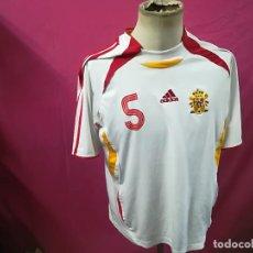 Sports collectibles - CAMISETA FUTBOL ORIGINAL ADIDAS SELECCION ESPAÑOLA Nº5 PUYOL ADIDAS - 121091847