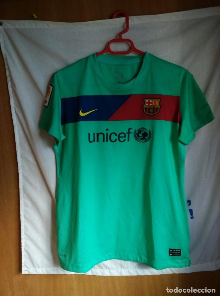 camisetas de futbol Barcelona mujer