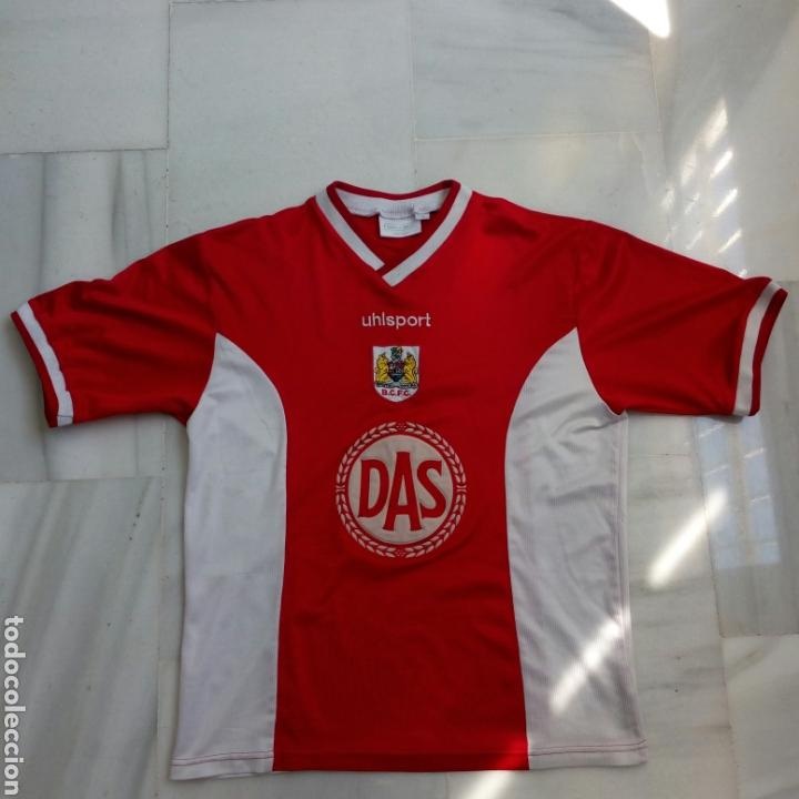 Camiseta futbol bristol inglaterra premier tall - Vendido en Venta ... 47eedac558072