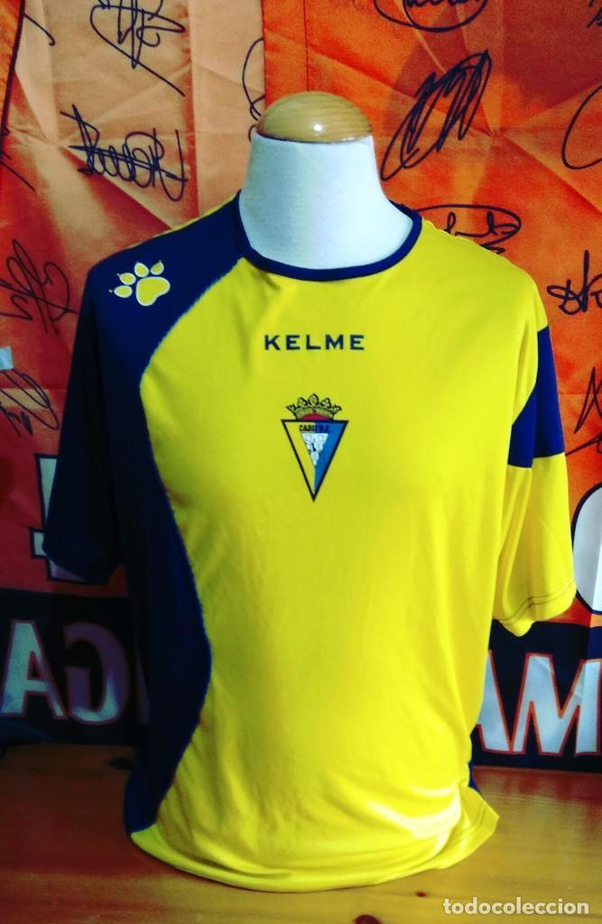 0130ebbc33aec camiseta futbol cadiz c.f entrenamiento kelme - Comprar Camisetas de ...