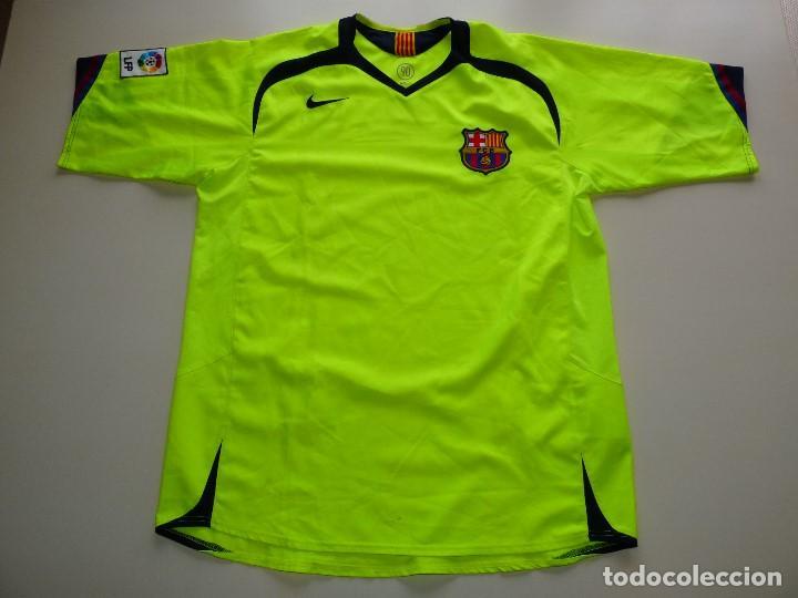 CAMISETA NIKE FC BARCELONA FLUOR (Coleccionismo Deportivo - Ropa y  Complementos - Camisetas de Fútbol ac3f53b43ef