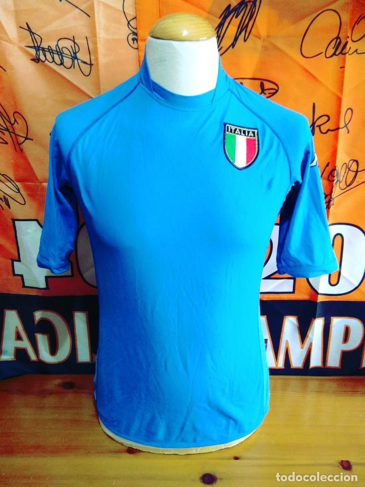 CAMISETA FUTBOL SELECCION ITALIA 2002 KAPPA (Coleccionismo Deportivo - Ropa  y Complementos - Camisetas de f42656482b4b7