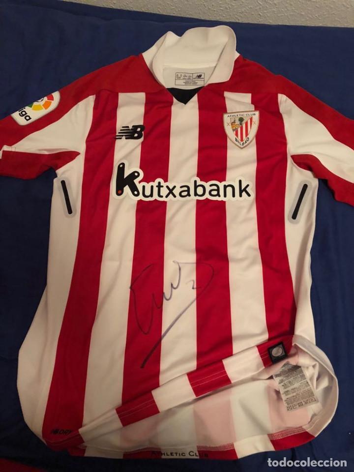 645d3adc5d528 ATHLETIC CLUB BILBAO MATCH WORN (Coleccionismo Deportivo - Ropa y  Complementos - Camisetas de Fútbol