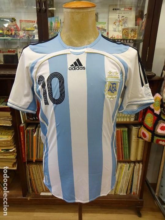 ANTIGUA CAMISETA SELECCION ARGENTINA. DIEGO MARADONA. ADIDAS. TALLA M. VER  FOTOS ( 50620e4648090