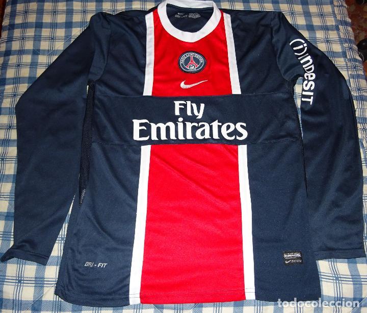 size 40 d1bf3 22b6d Camiseta de fútbol. paris saint germain psg. añ - Sold ...