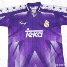 Coleccionismo deportivo: CAMISETA FUTBOL REAL MADRID ORIGINAL TAQUY TEKA. Lote 127761890