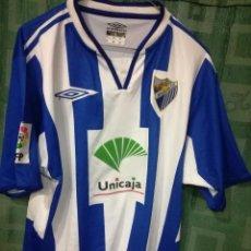 Coleccionismo deportivo: MALAGA CF UNICAJA CAMISETA FUTBOL FOOTBALL SHIRT L. Lote 123750251
