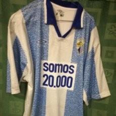 MALAGA CF TRIBUTE CAMISETA FUTBOL FOOTBALL SHIRT ESPECIAL SOCIOS XL dbf70cc929b5f
