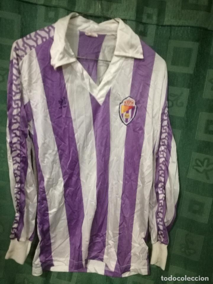 Usado, REAL VALLADOLID 1980 CAsaballa Camiseta futbol football shirt Vintage M segunda mano