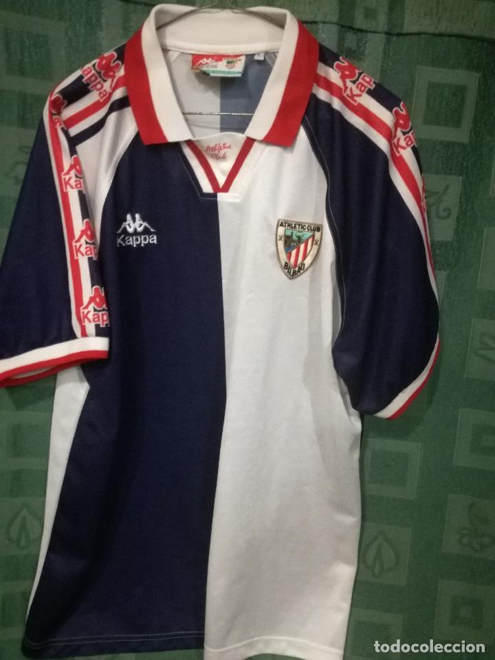 96a1ccfc04431 Athletic Club Bilbao L Camiseta futbol football shirt segunda mano