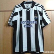 Coleccionismo deportivo: CAMISETA FUTBOL ADIDAS 100% ORIGINAL ( NEWCASTLE UNITED ) 2004 TALLA S. Lote 124270551