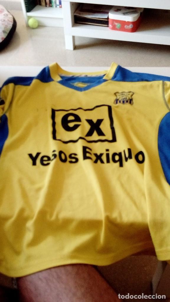 G-15 CAMISETA DE FUTBOL AMARILLA DE CORIA MARCA JOMA NO APARECE LA TALLA PARECE CHICA (Coleccionismo Deportivo - Ropa y Complementos - Camisetas de Fútbol)