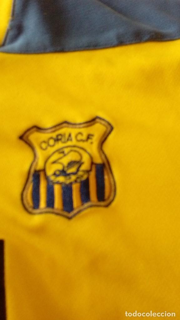 Coleccionismo deportivo: G-15 CAMISETA DE FUTBOL AMARILLA DE CORIA MARCA JOMA NO APARECE LA TALLA PARECE CHICA - Foto 2 - 124288359