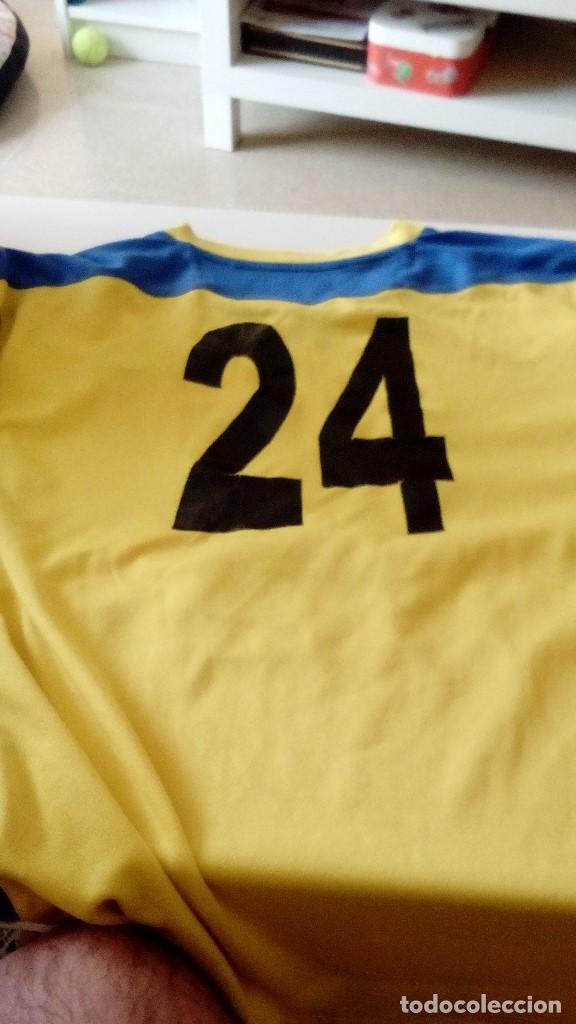Coleccionismo deportivo: G-15 CAMISETA DE FUTBOL AMARILLA DE CORIA MARCA JOMA NO APARECE LA TALLA PARECE CHICA - Foto 6 - 124288359